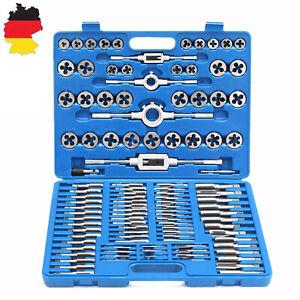 Gewindeschneider Satz M2-M18 Fein Gewinde Schneider Bohrer Werkzeug Set 110 tlg.