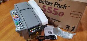 Better Pack 555e Electronic Gum Kraft Packing Tape Dispenser New.