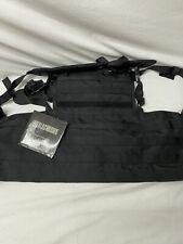 BlackHawk 37CL82BK Lightweight Plate Carrier Harness Black Active Shooter
