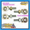 GO KART TIE ROD END ENDS (4) PACK HEAVY-DUTY FORGED LOCK NUTS 2xLH 2xRH THREAD