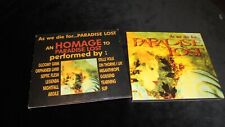 VARIOUS As We Die For Paradise Lost TRIBUTE compilation 1998 CD death black doom
