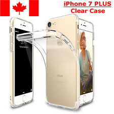 iPhone 7 PLUS Case - Transparent Crystal Clear Soft Thin Flexible TPU Cover