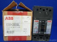 ABB ESB43020L 480 VAC 3 POLE CIRCUIT BREAKER, NEW
