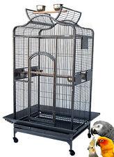 "Extra Large 32""X23""X62"" ;H Parrot Macaw Cockatoo African Grey Bird Iron Cage 149"