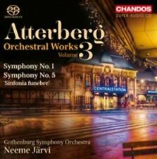 ATTERBERG: ORCHESTRAL WORKS, VOL. 3 NEW CD