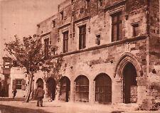 """CARTOLINA - RODI """" IL PALAZZO DELL'AMMIRAGLIO """" OCCUPAZIONE ITALIANA 1930 32-94"""