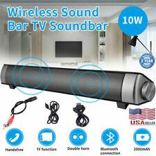 Bluetooth Wireless TV Speaker Home Theater Soundbar Sound Bar Speaker System Aux