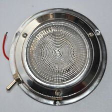 "Boat Yacht Caraven Motorhome 12V Ceiling Light Stainless steel 3"" Dome Light"
