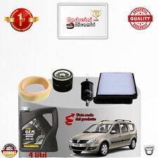 Mantenimiento Filtros + Aceite Dacia Logan 1.4 55 Kw 75cv de 2007 - >2011
