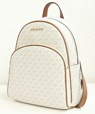 Michael Kors rucksack tasche abbey md  signiatur backpack vanilla neu
