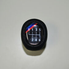 Shift Knob M-TECHNIC Leather 6 Speed for BMW1 3 Series E88 E82 E90 E91 E92 E93