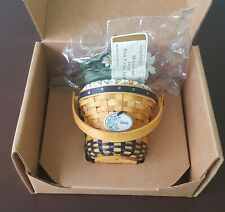 Longaberger Collectors Club May Series Miniature Daisy Basket Combo - New!