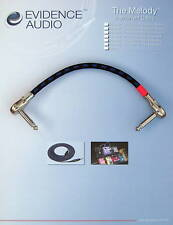 Evidence Audio Melody patch cable Switchcraft 228