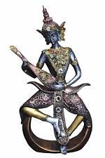 Lord Buddha Playing Musical Instrument God Idol Statue Showpiece