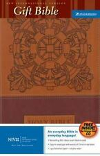 NIV Gift Bible w/CD GM by Zondervan Staff (2005, CD / Leather)