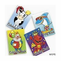 NEW 72 pack of Bulk Kids Coloring Books ~ Great Party Favors! Assorted Designs