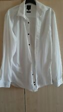 Mens T&W shirt slim fit size 15.5 collar