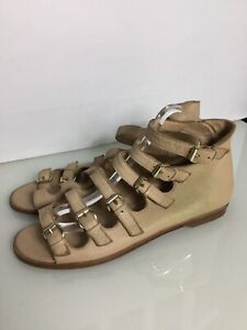 Westwood Anglomania 'Marie' Leather Gladiator Sandals. Size 7UK/ 40. Exc Cond