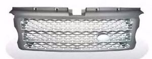 Front Bumper Grille for L320 RANGE ROVER Sport 06-09 Gray&Silver P Style