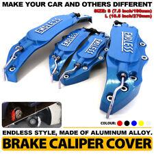BU ENDLESS Brake Caliper Cover Metal Style Disc Universal Car Front Rear Kit L+S