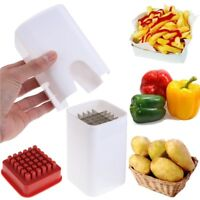 Perfect Fries One Step French Fry Cutter Fruit Vegetable Durable Potato Slicers