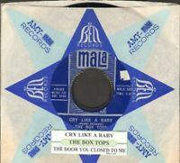 Box Tops - Cry Like A Baby Mala 593 Vinyl 45 rpm Record