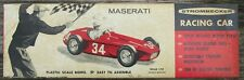 Vintage 1/24 Strombecker 1956 Maserati 250F Complete Kit Moss Monaco Win