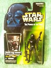 DEATH STAR GUNNER  Power of the Force  Star Wars figure kenner 1996