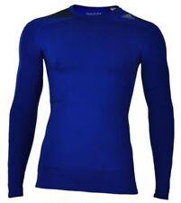 Abbiglimento sportivo da uomo Maglie blu di compressione