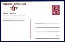 BELGIUM - BELGIO - Cart. Post. - 1985 - 23 fr (all'estero) -  BELGIE-BELGIQUE  -