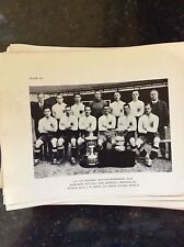 a2q ephemera reprint picture football team f a cup bolton wanderers 1926 vizard