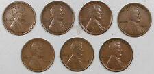 1916 LINCOLN CENTS - LOT/ 7  - HIGH GRADE AND WHOLESOME EXAMPLES!