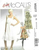 New Look Ladies Easy Sewing Pattern 6281 Plain /& Layered Dresses NewLook...