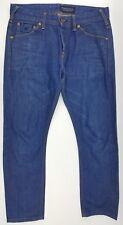 Scotch & Soda Amsterdams Blauw Phaidon 31 x 32 Men's Jeans Button Fly Skinny