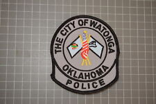 The City OF Watonga Oklahoma Police Department Patch (B17-F)