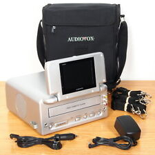 """New listing Audiovox Vbp2000 Portable Vcr Vhs Player 5"""" Lcd Monitor, Carry Bag, Ac/Dc Power"""