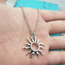 New  silver sun Necklace pendants fashion jewelry accessory,creative Gifts