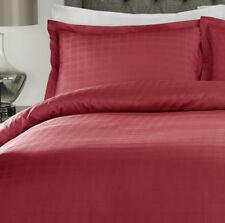 Linge de lit et ensembles rouge à motif Carreaux en 100% coton