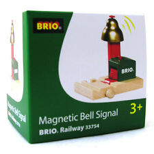 BRIO Magnetic Bell Signal Wooden Railway Train Engine 33754