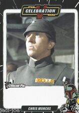 Chris Muncke Official Pix Star Wars Autograph Trading Card Celebration V Exc