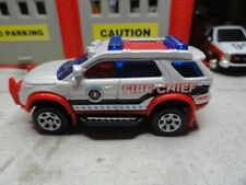 MATCHBOX FIRE FORD EXPLORER FIRE CHIEF