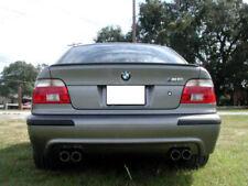 USA Painted Trunk Lip Spoiler 97-03 BMW E39 4D Sedan M5 Steel Blue Metallic 372