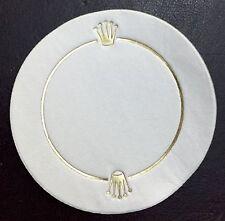 COPPA Rolex VINTAGE/GLASS BEER COASTER in carta Submariner 1680 1655 1665 1019