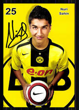 Nuri Sahin Borussia Dortmund 2005-06 Autogrammkarte Original Signiert + A 82884