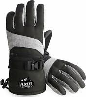 AMH Ski & Snowboard Men & Women Gloves Winter Warm Thinsulate Waterproof XL