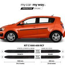 (Fits) Chevrolet Sonic Hatchback 2012-2019 Real Carbon Fiber Body Side Molding C