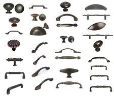 Oil Rubbed Bronze Knobs Pulls Kitchen Cabinet Handles Hardware Closet Vanity