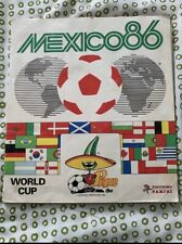 Album de cromos Mexico 86 Panini completo