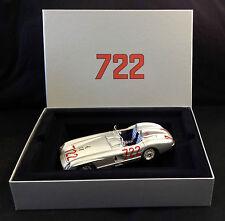 SIGNED Stirling Moss, 1:18 Mercedes-Benz 300SLR '722' Mille Miglia, Box-set, COA