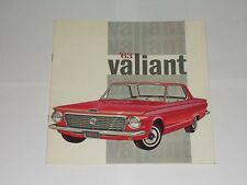 Vintage Car Brochure '63 Valiant. Chrysler Canada Publication. Great Pictures.